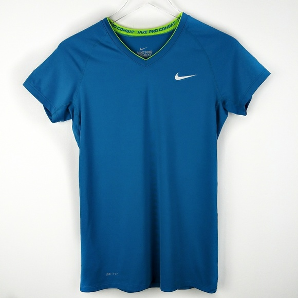 Nike Tops - Nike Pro Combat fitted short sleeve shirt dri fit.